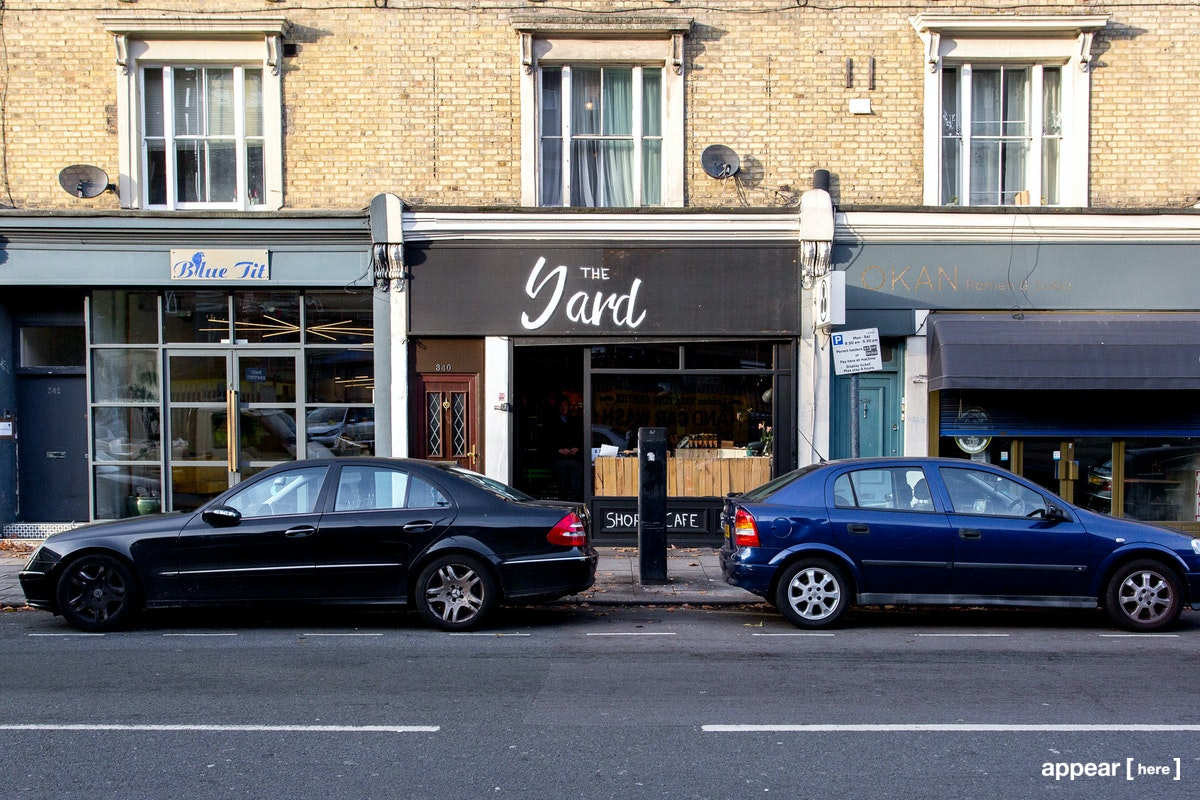 Coldharbour Lane, Brixton - Retail/Cafe with Large Terrace