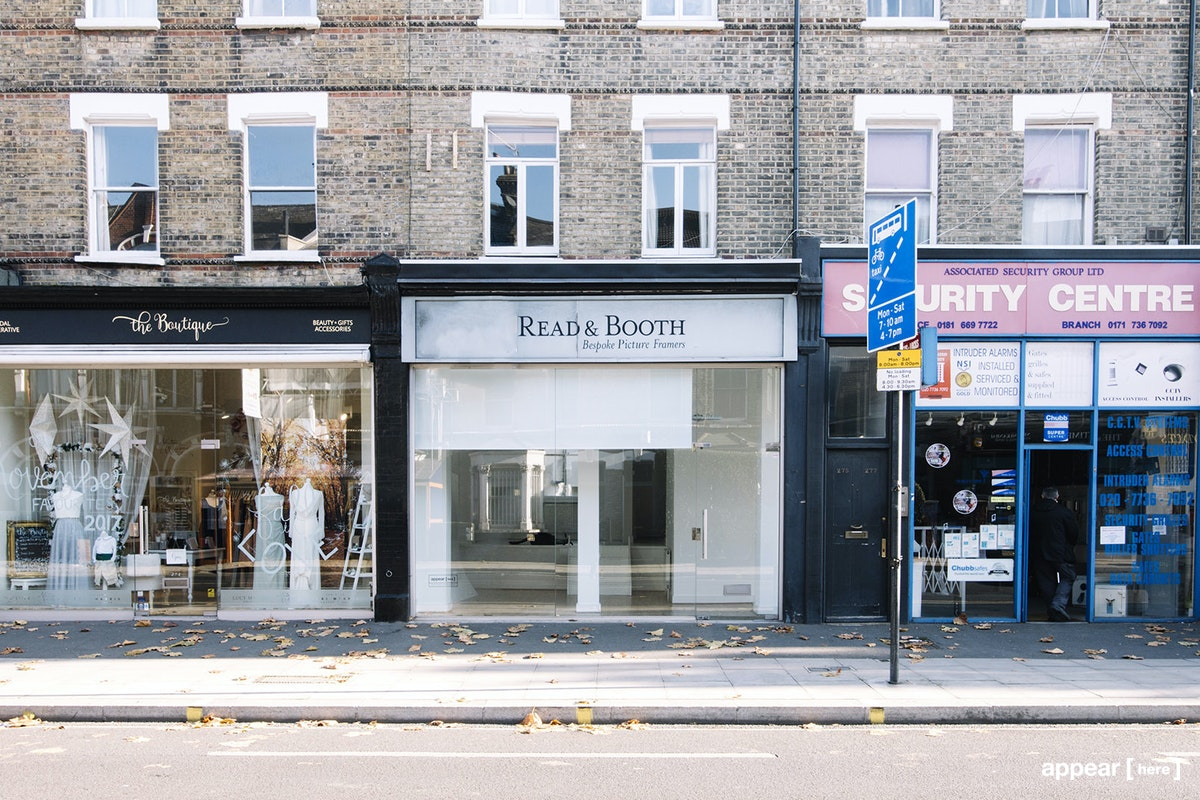 Wandsworth Bridge Road, Fulham - Smart White Boutique