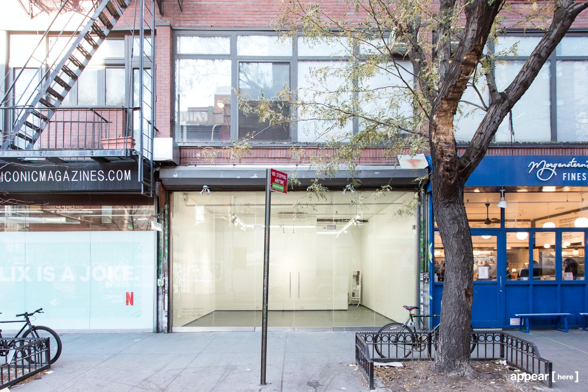 Rivington Street, Lower East Side - Contemporary pop-up space