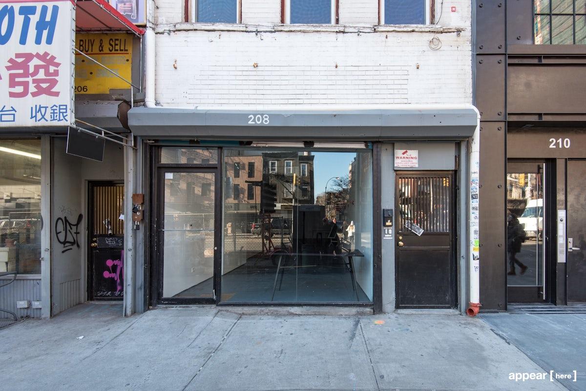 Bowery, Nolita -  Simple Retail Space