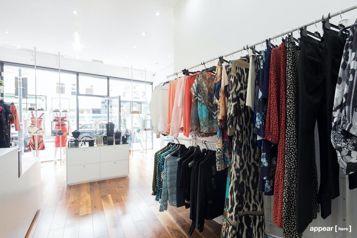 Fulham Road, PANTE boutique – Shop Share, Rail Space