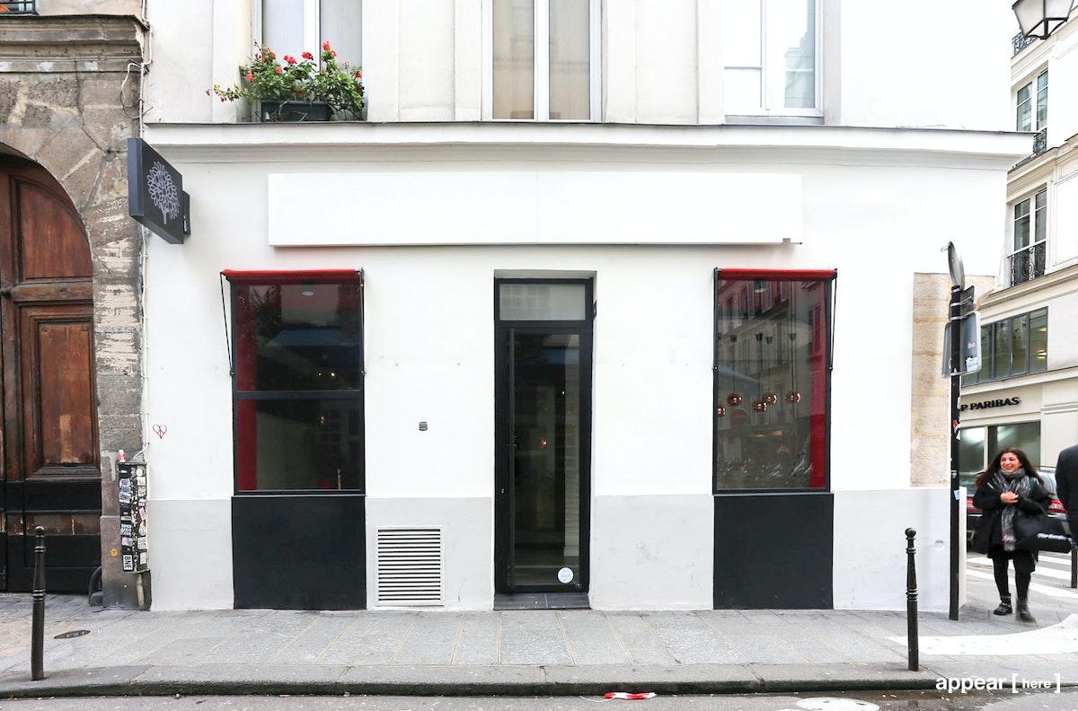 Boutique d'angle Saint-Paul