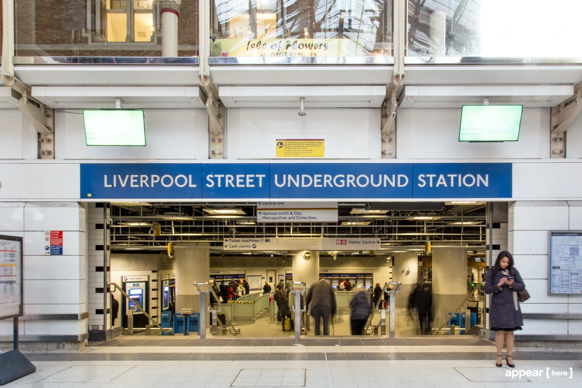 Liverpool Street Station - Ticket hall B, London