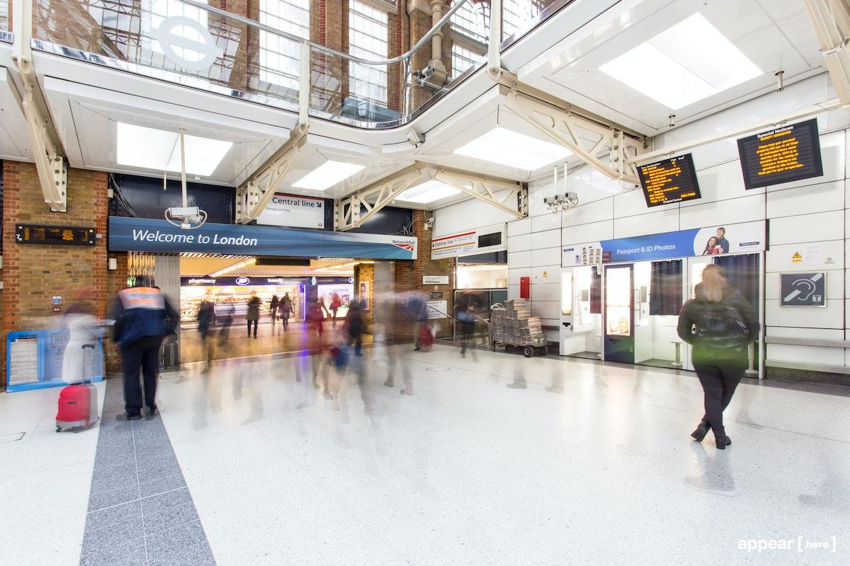 Liverpool Street Station - Ticket hall C, London