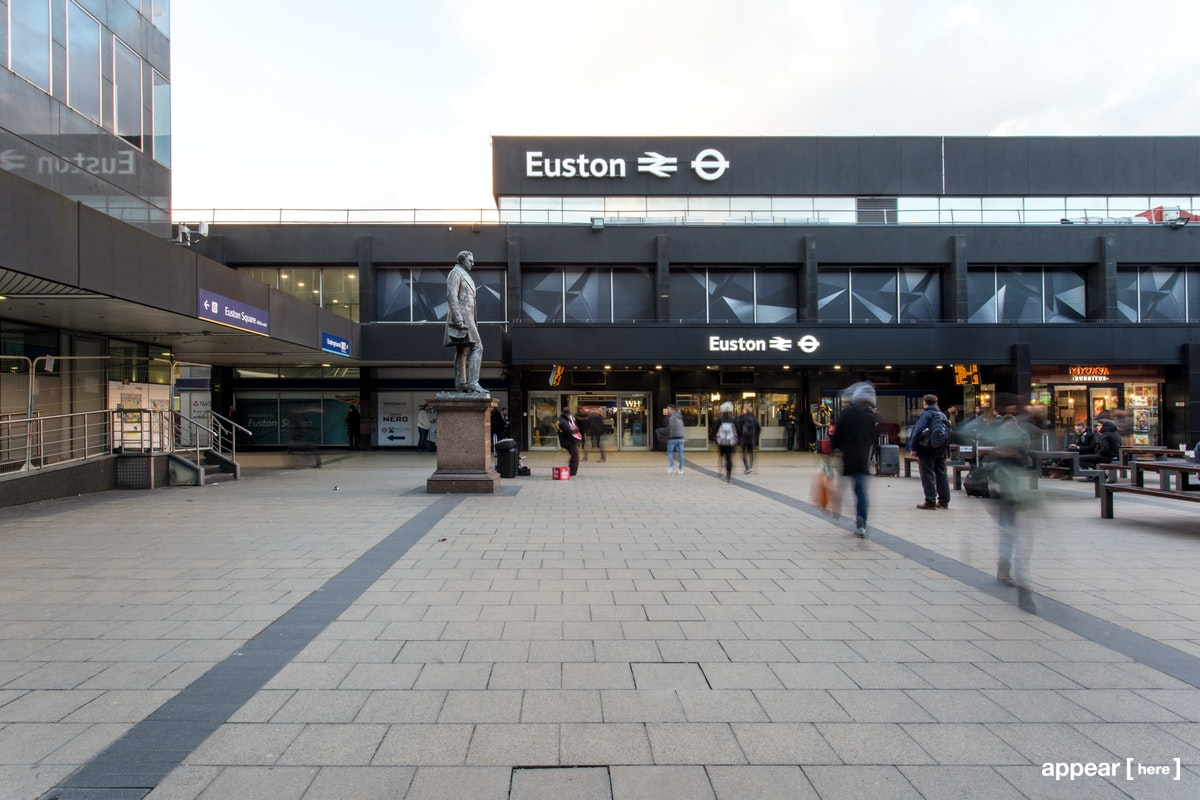 Euston Station, London