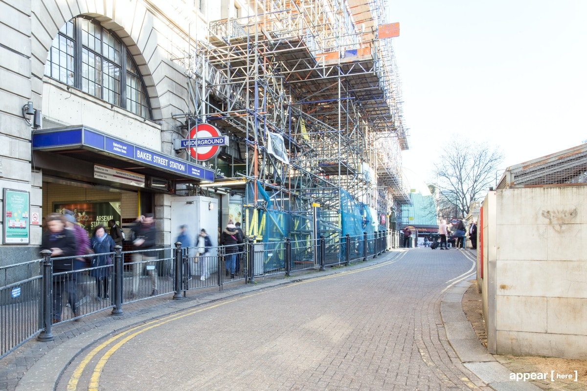 Baker Street Station, Marylebone – Experiential Space
