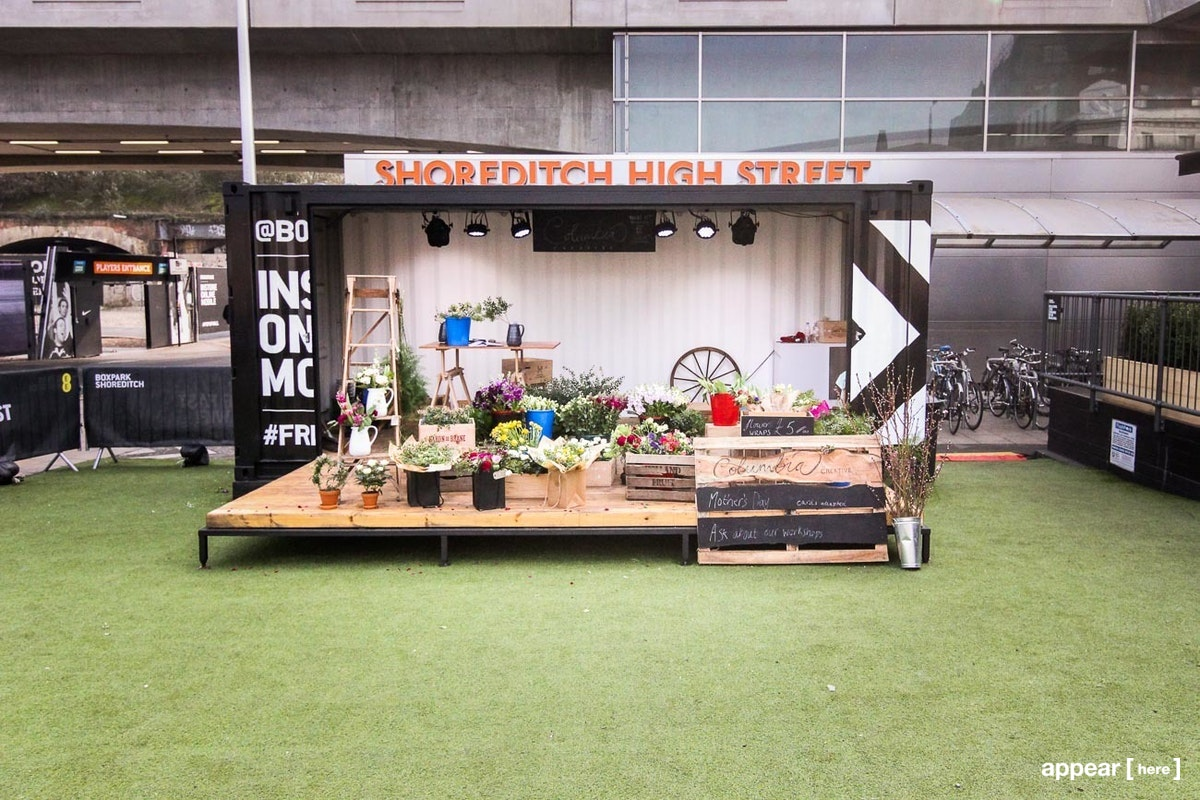 BOXPARK The Square, Shoreditch, London WEEKENDs (thursday-sunday)