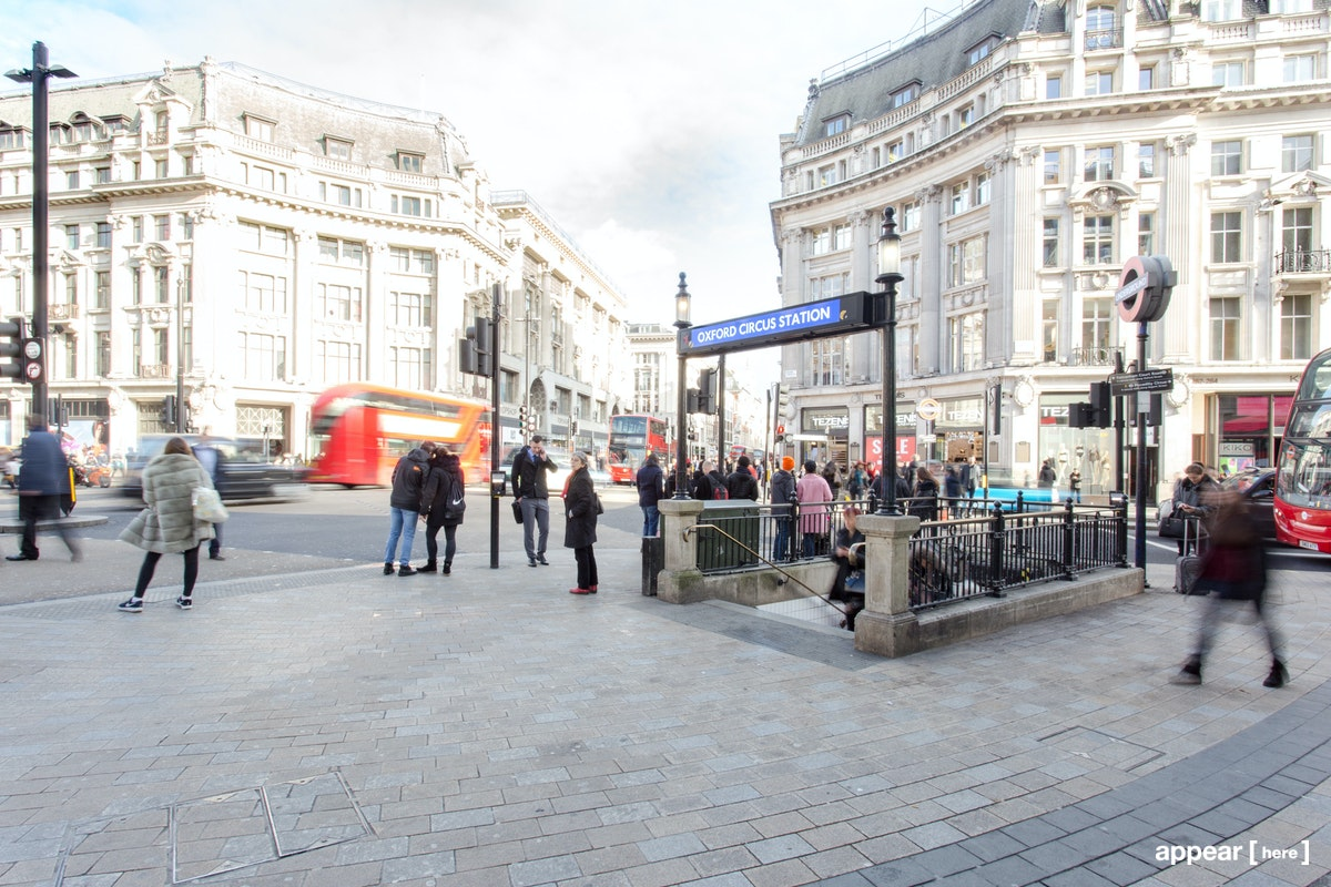 Oxford Street Tube Station