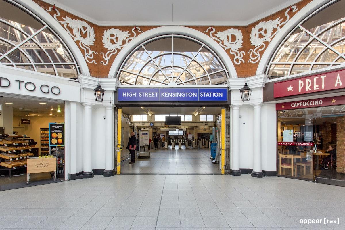 The High Street Kensington Promotional Area