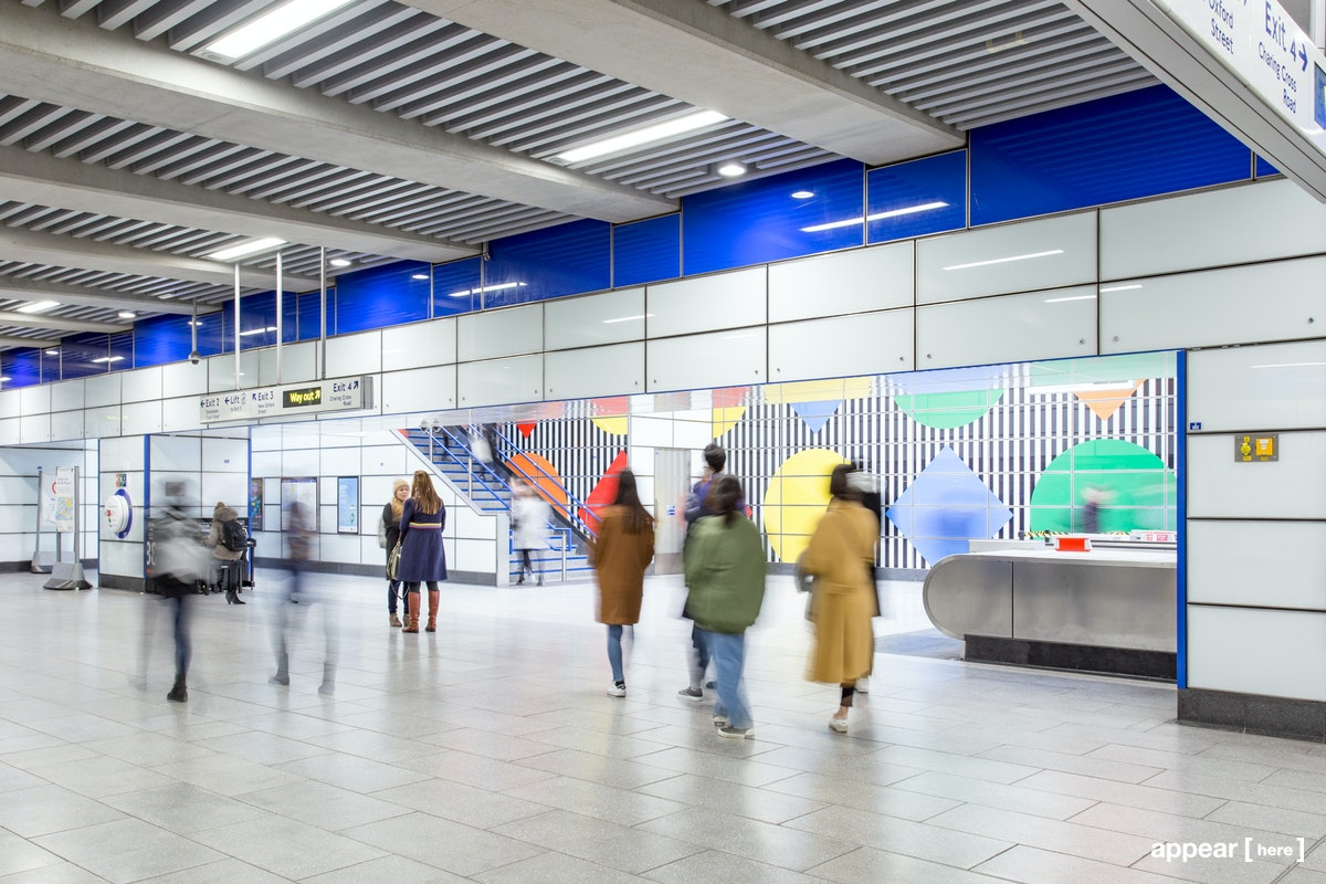 Tottenham Court Road Station - Exit 4, London