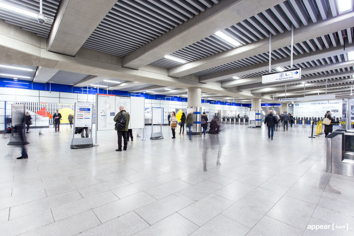 Tottenham Court Road Station, London