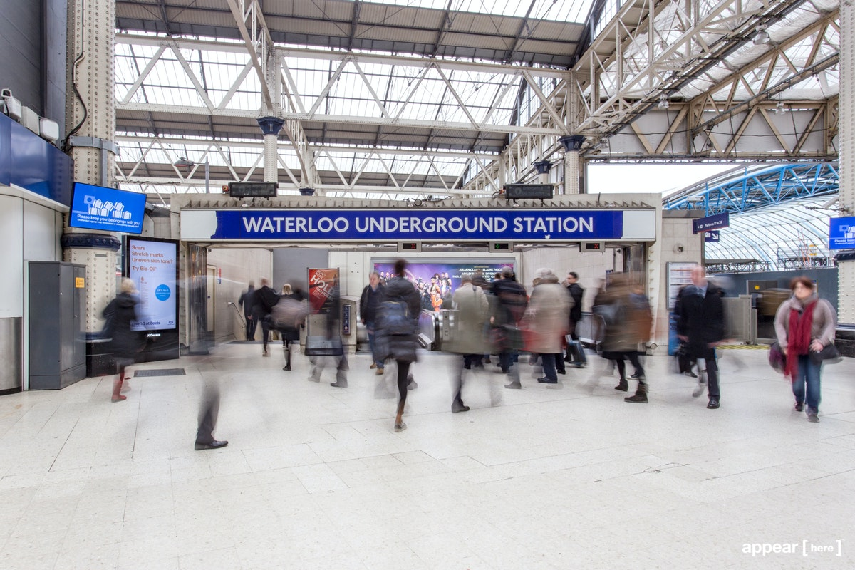 The Large Experiential Space – Waterloo Underground Station
