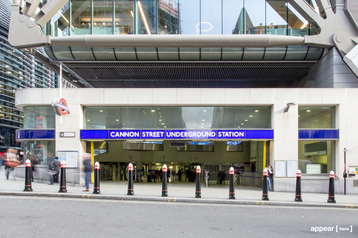 The City of London Experiential Space – Cannon Street Underground