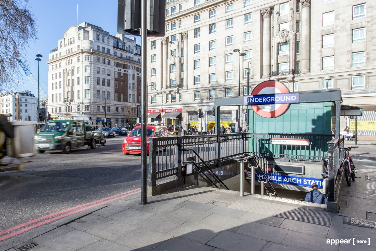 Marble Arch Station - Experiential Space