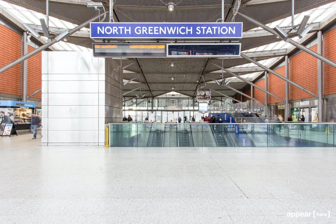 North Greenwich Station - Level 4 Ticket Hall , London