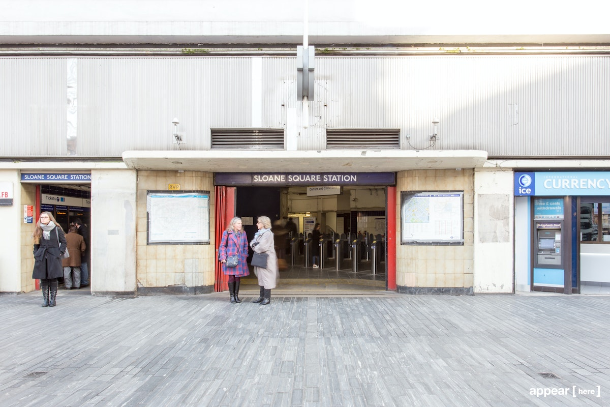 Sloan Square Station - Ticket Hall, London