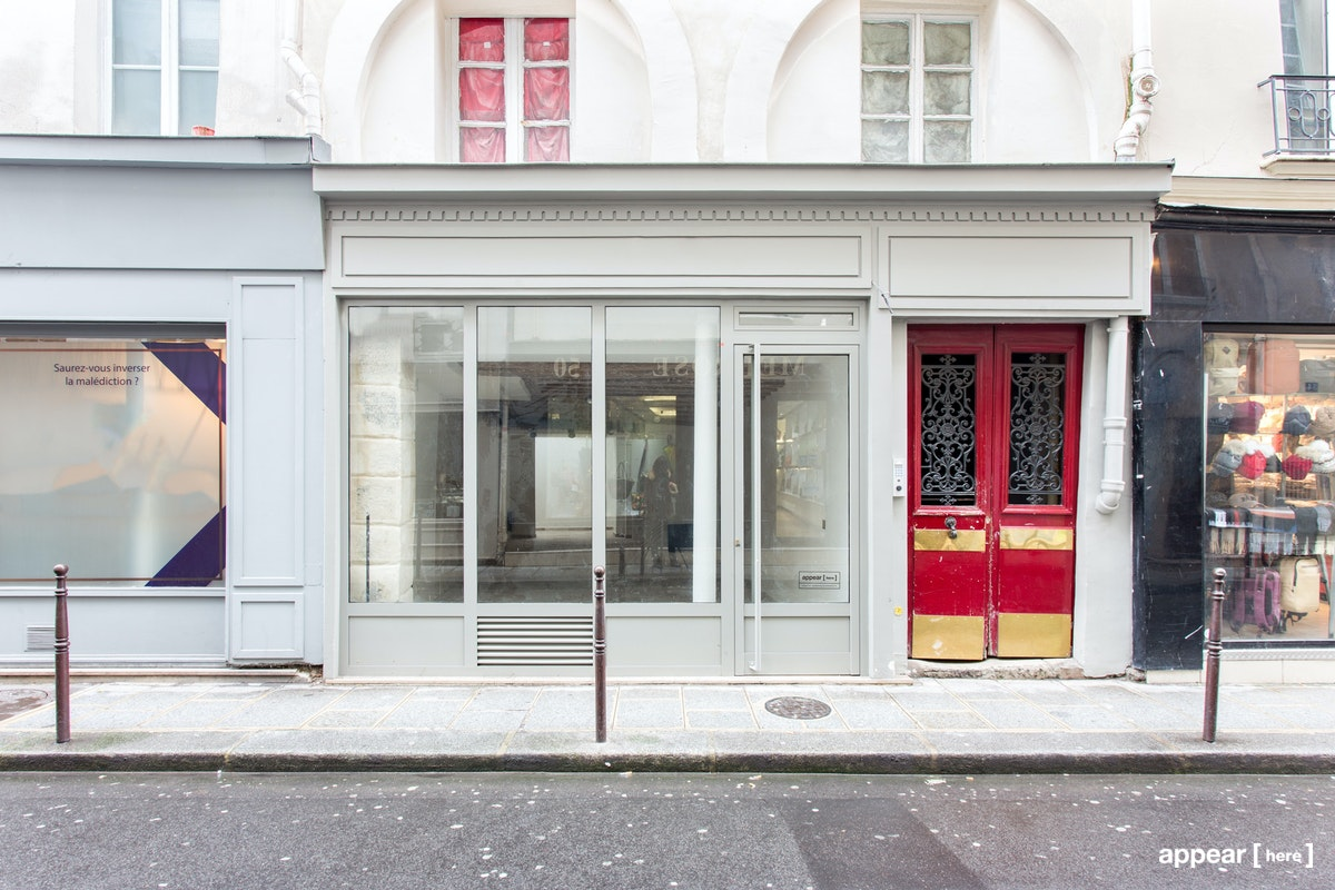 Boutique en longueur des Arts et Métiers