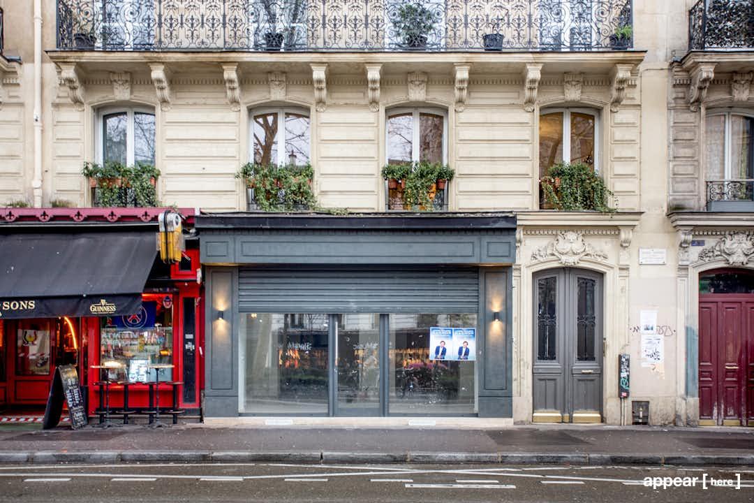 Boutique-Showroom de Pigalle.