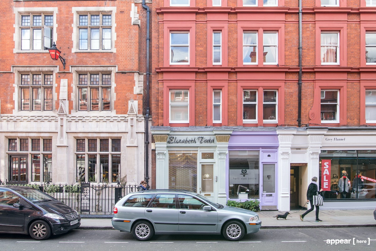 Chiltern Street, Marylebone - The Old Bridal Boutique
