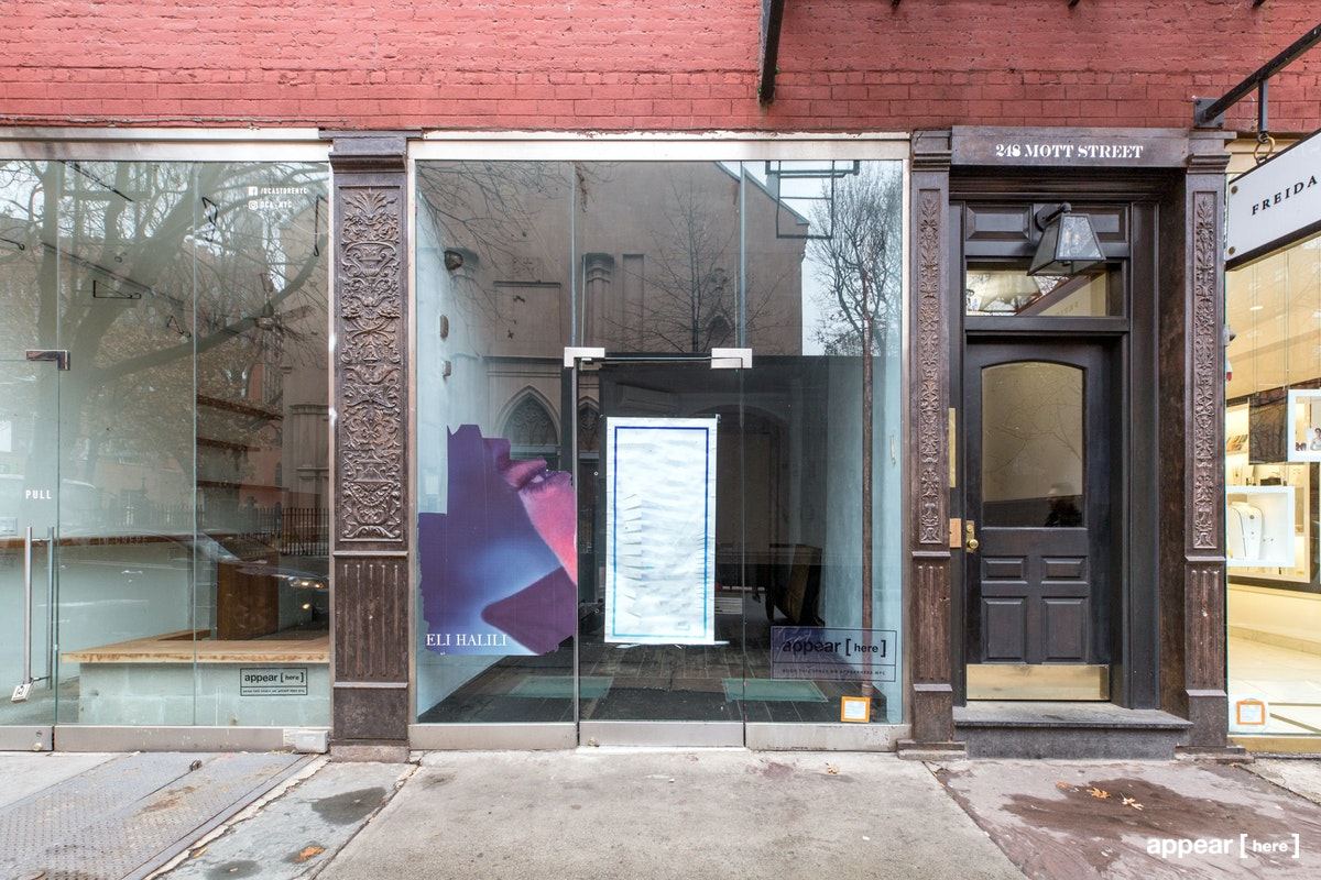 Nolita – The Glass Storefront