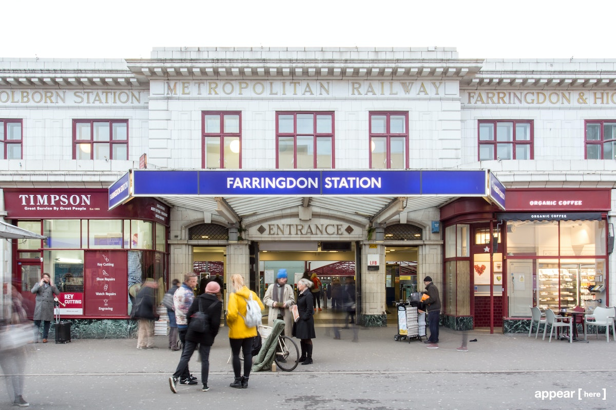 Farringdon Station - Experiential Space