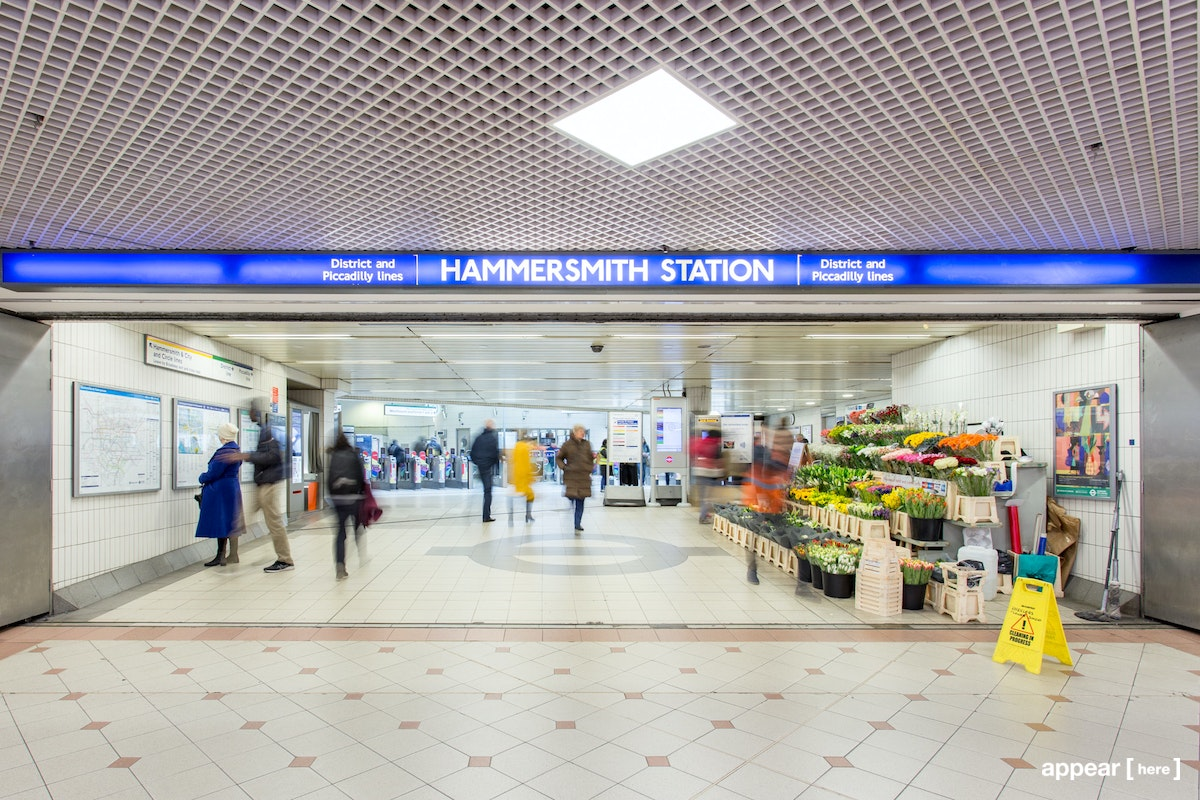 Hammersmith Station (District/Picadilly), London