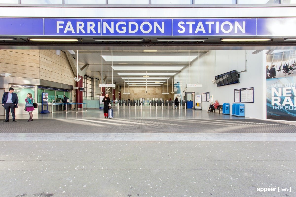 Js Auto Manchester >> Rent a space | Farringdon Station, Thameslink ...