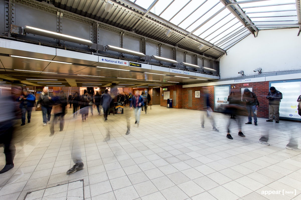 The West Ham Station Activation Area