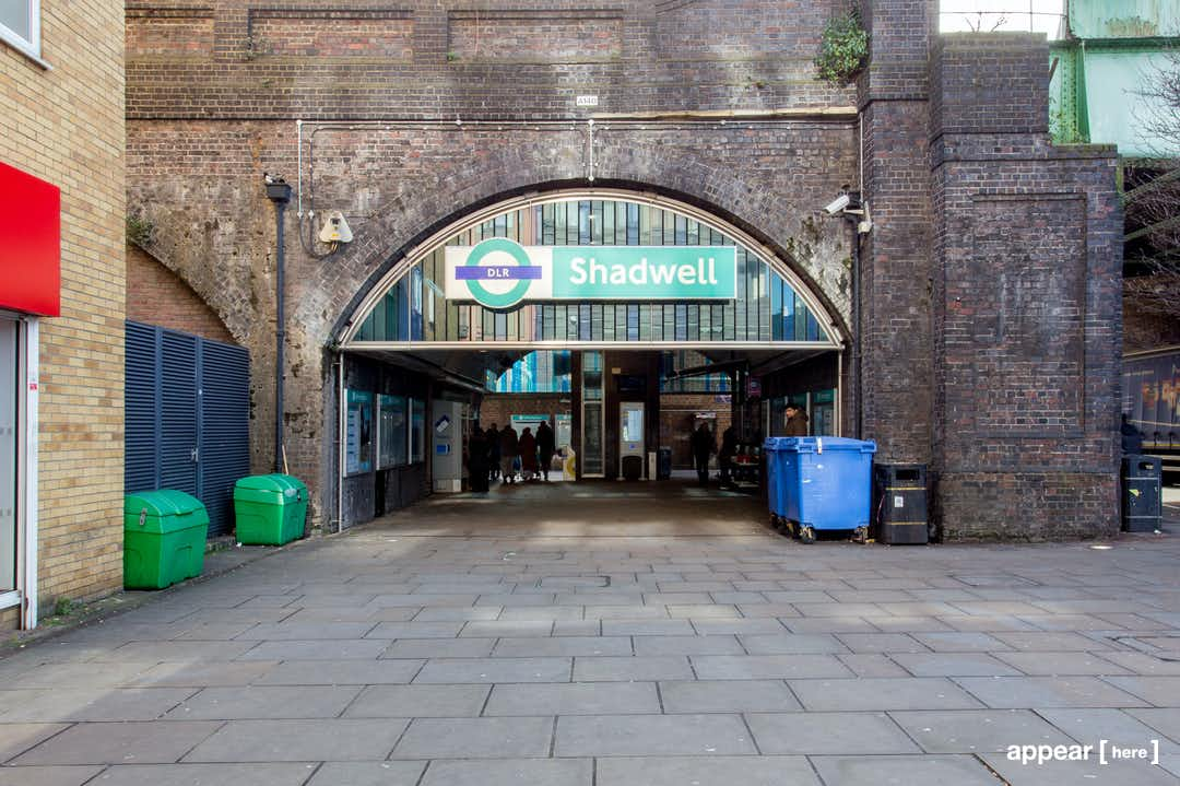The Shadwell DLR Station Experiential Space