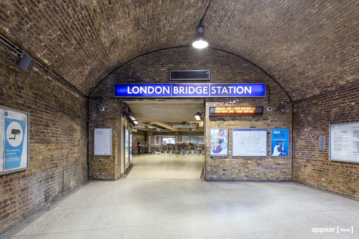The London Bridge Underground Experiential Area