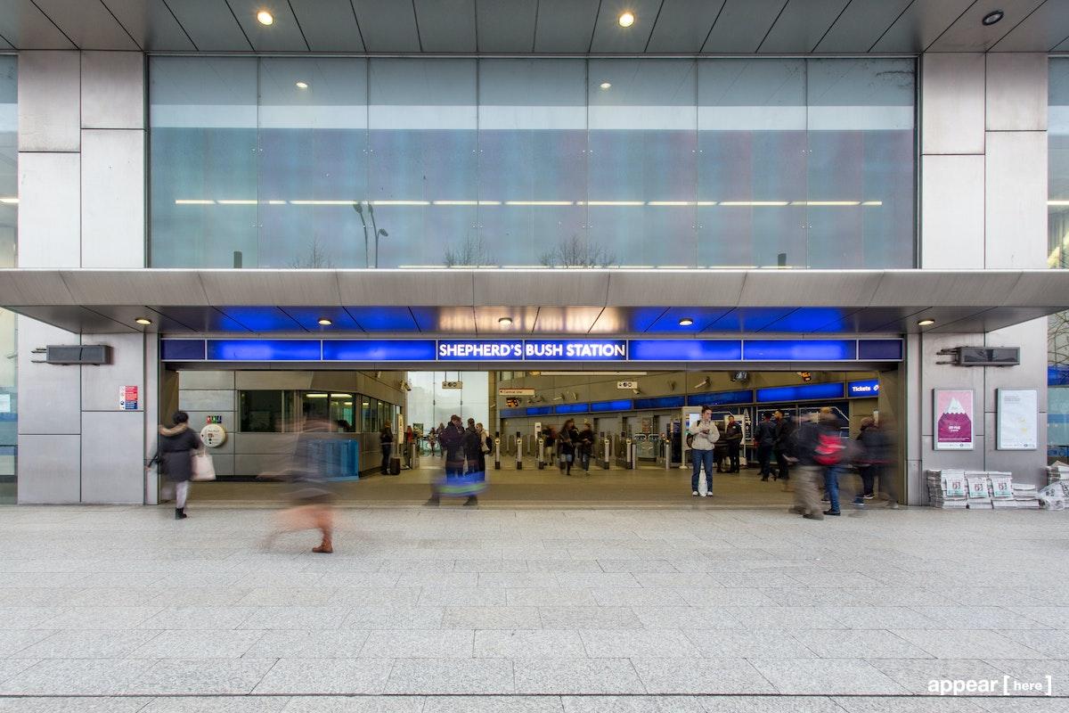 Shepherds Bush Station - Ticket hall ground floor, London