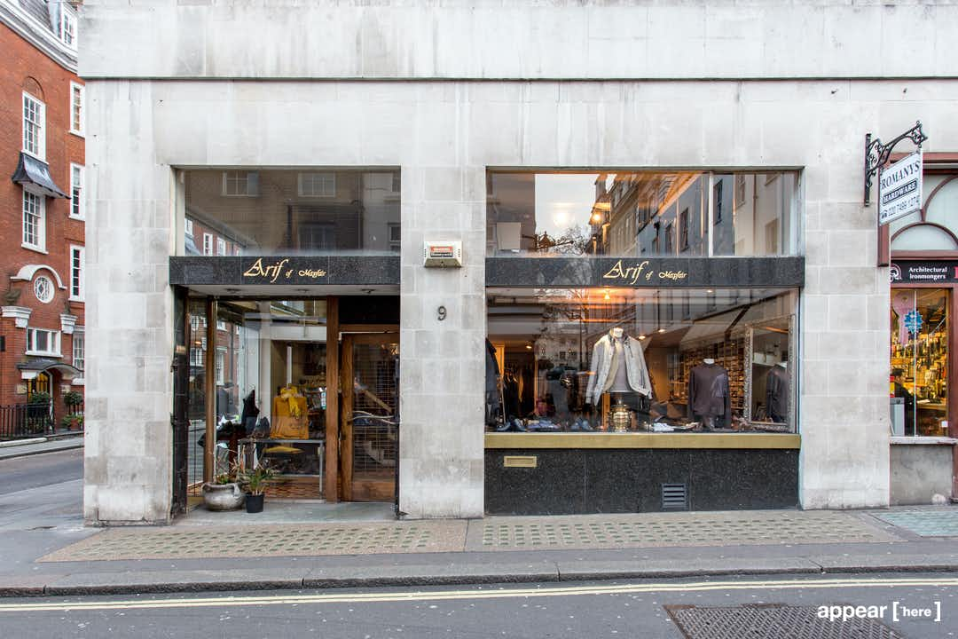 The Mayfair Store - Shepherd Street