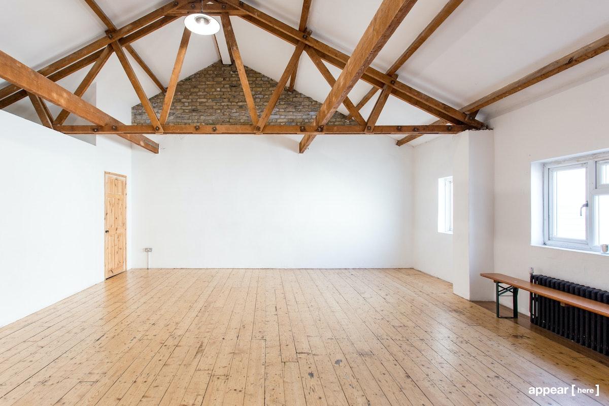 Studio 3, Apiary Studios, 458 Hackney Rd, London