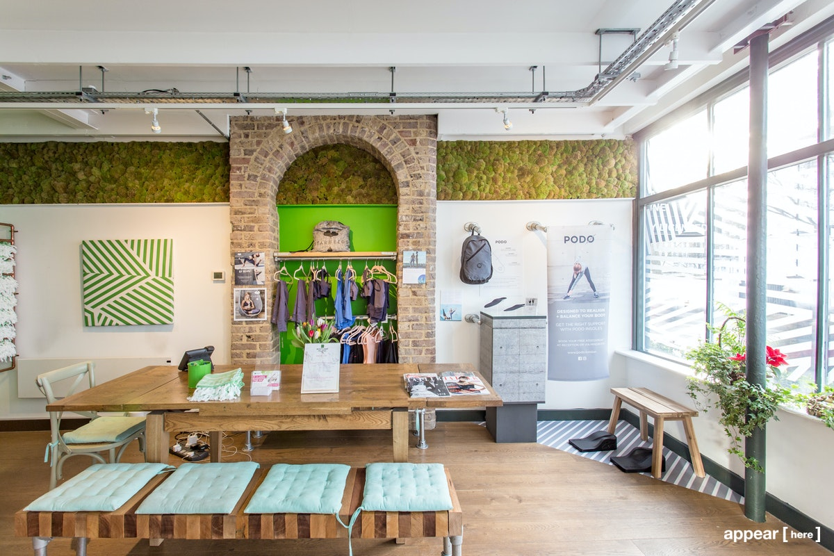 Bootcamp Pilates Wall Space, London