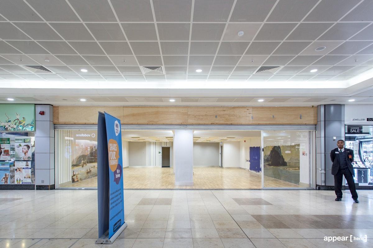 The Lewisham Shopping Centre Showroom
