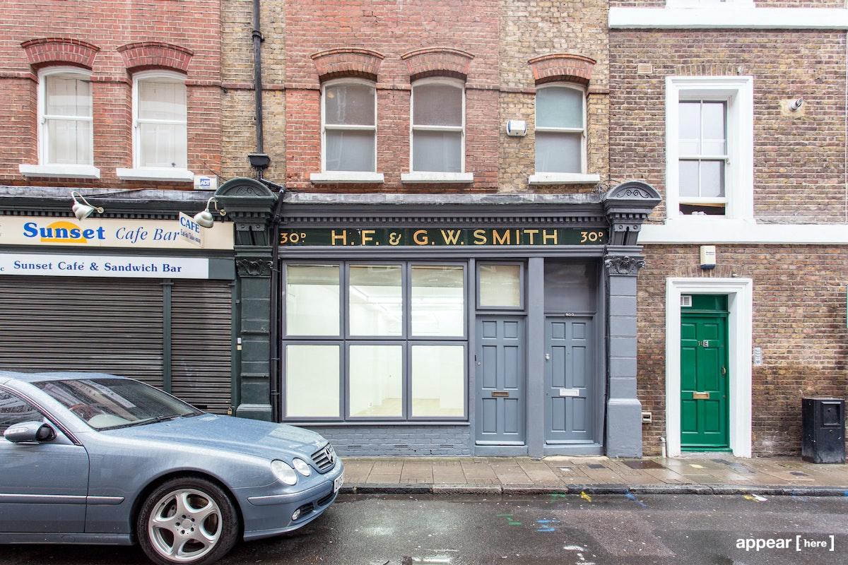 Great Sutton Street – Retail Space