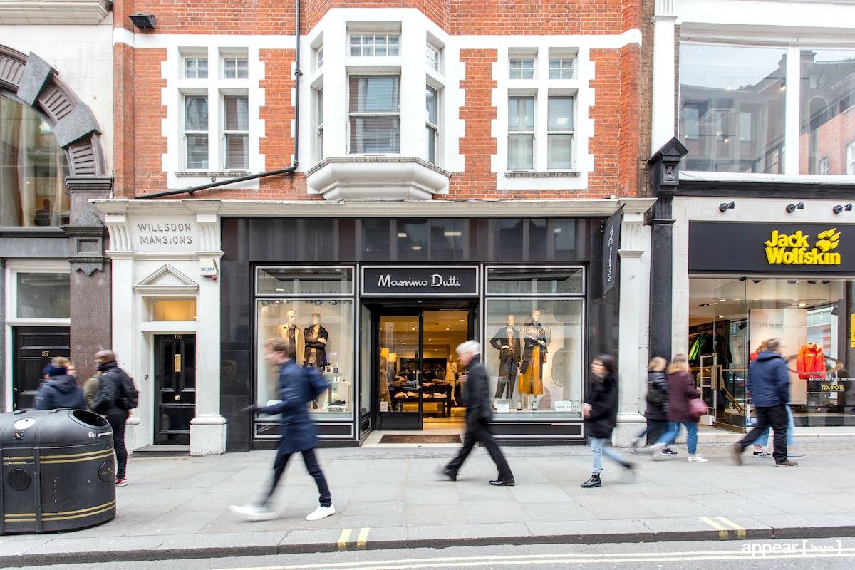 The Black Shop - Long Acre, Covent Garden