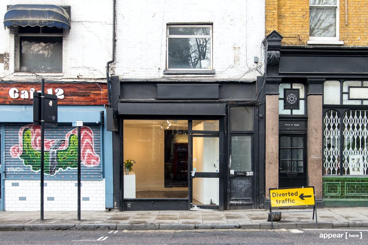 Hackney Road – Old Skate Shop