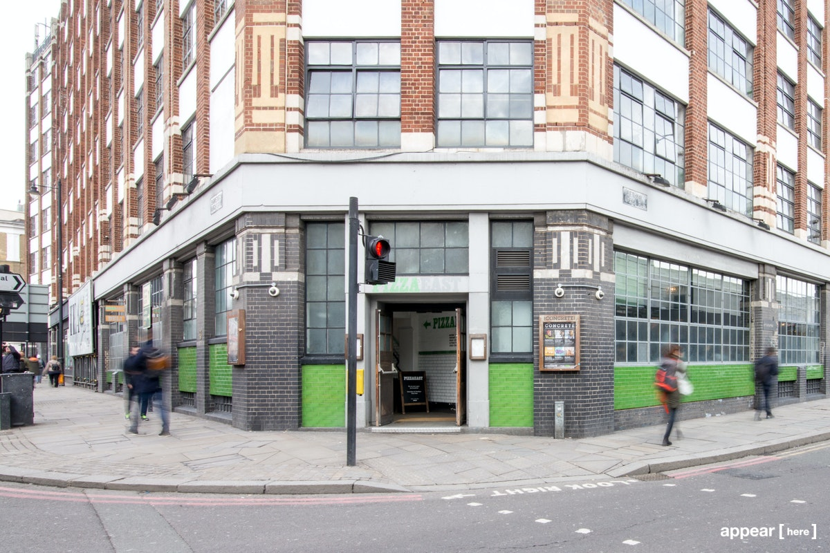 Shoreditch High Street - Concrete Daytime Event Space