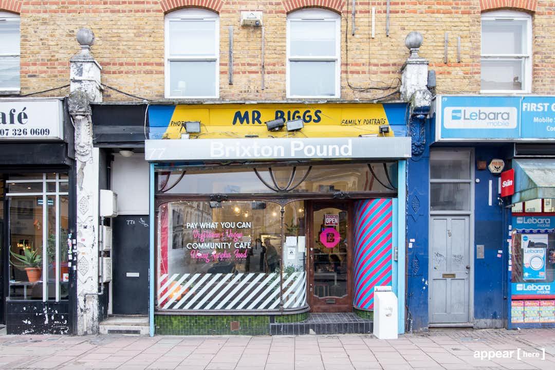 Brixton Pound Cafe - Basement Takeover