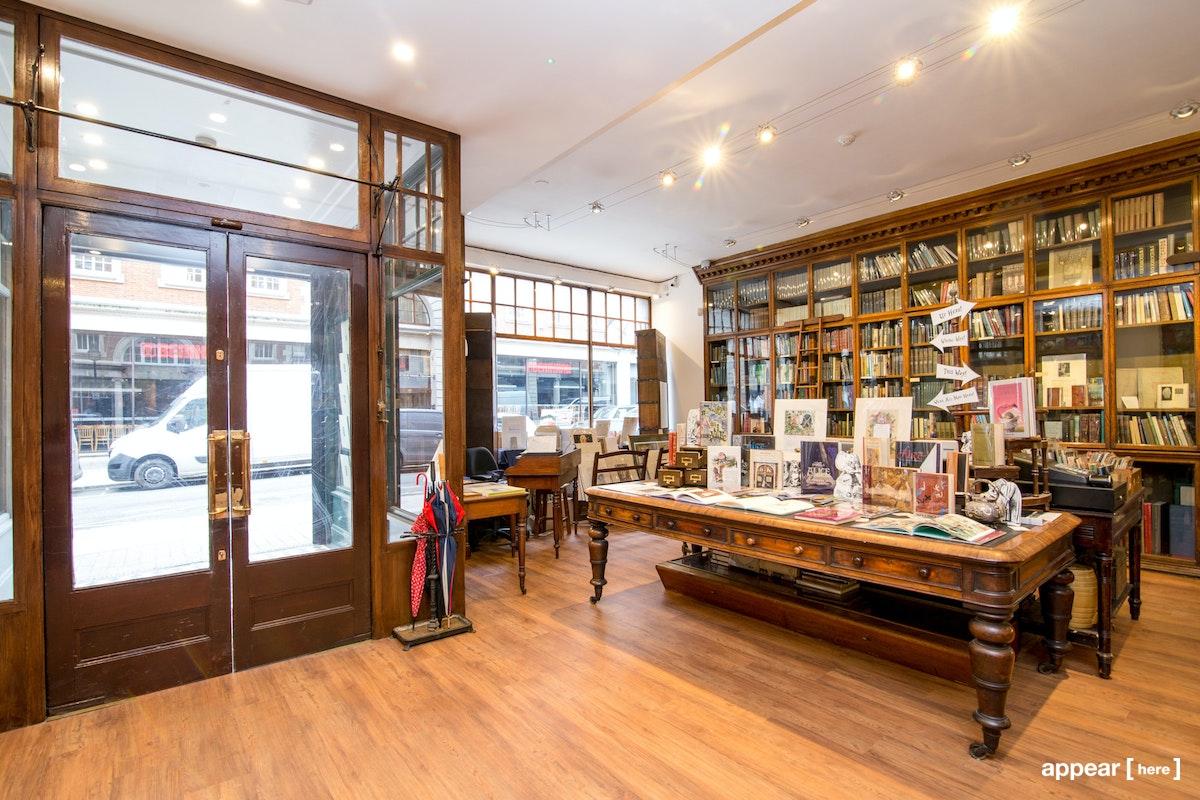 Sackville Street, Mayfair - Antique Bookshop Event Space