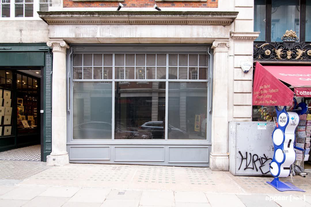 Sackville Street, Mayfair - Grey Shop Space