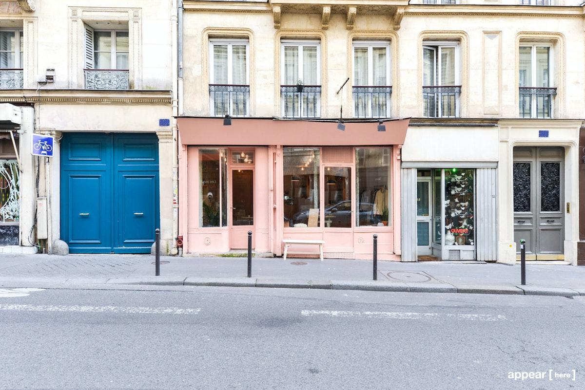 Boutique rose de Saint-Georges