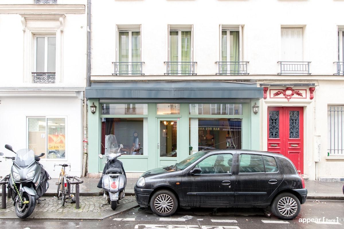 3 rue des Appenins, Paris