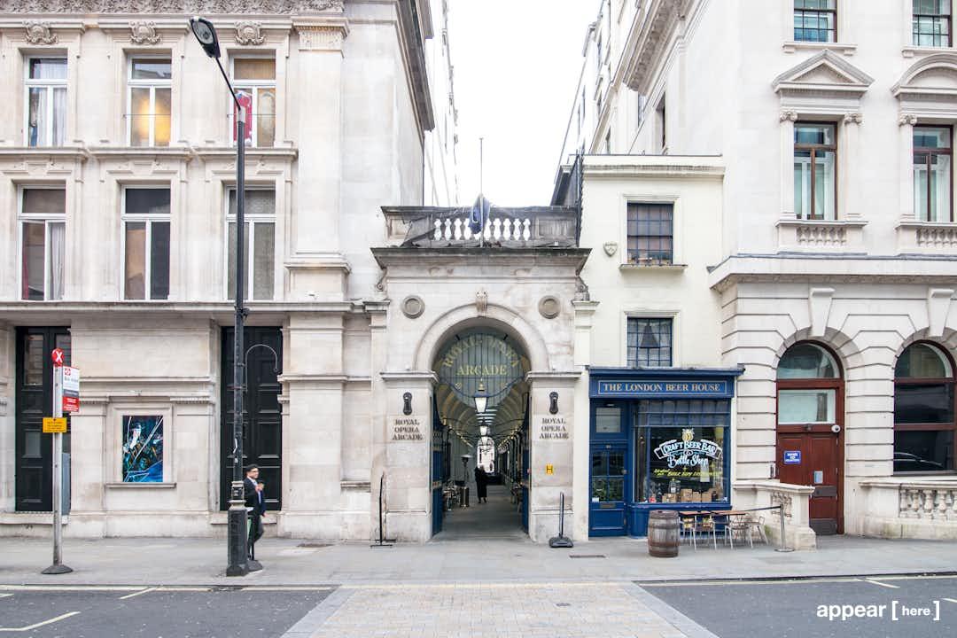 Royal Opera Arcade - Gallery