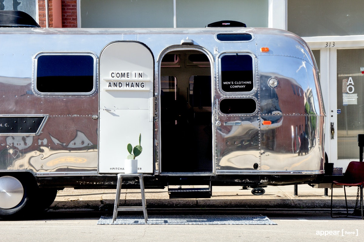 1970 Airstream Mobile Shop, New York, NY