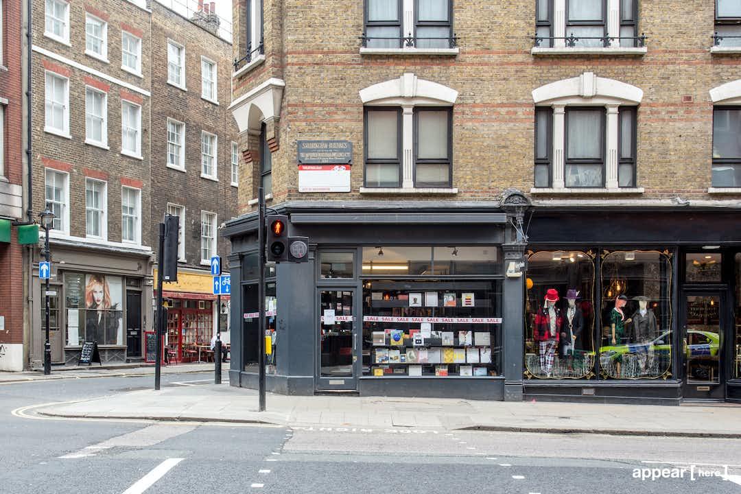 Charing Cross Road – The Corner Bookshop