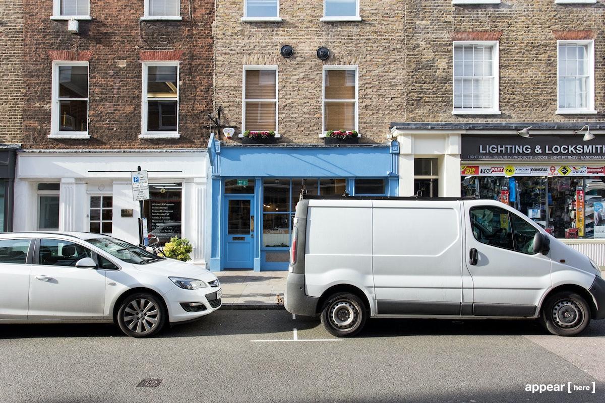 Marylebone – The Blue Deli, F&B