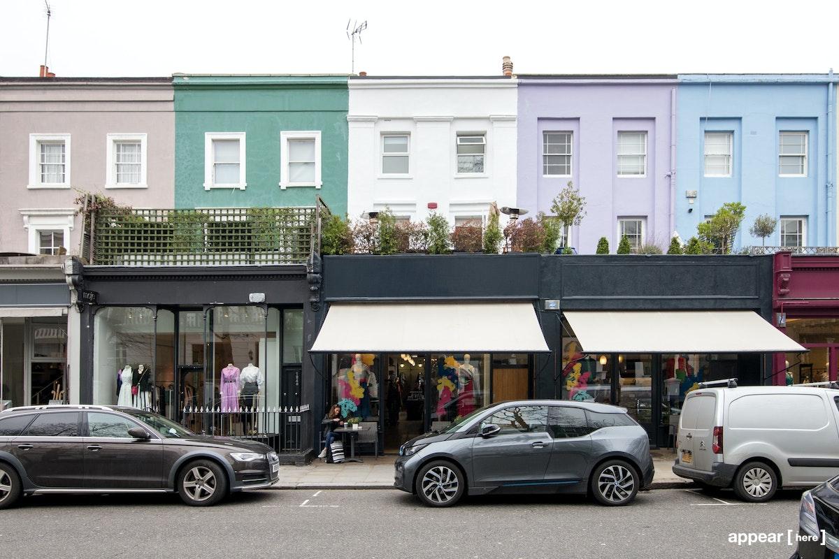 192a Westbourne Grove, Westbourne Grove, London