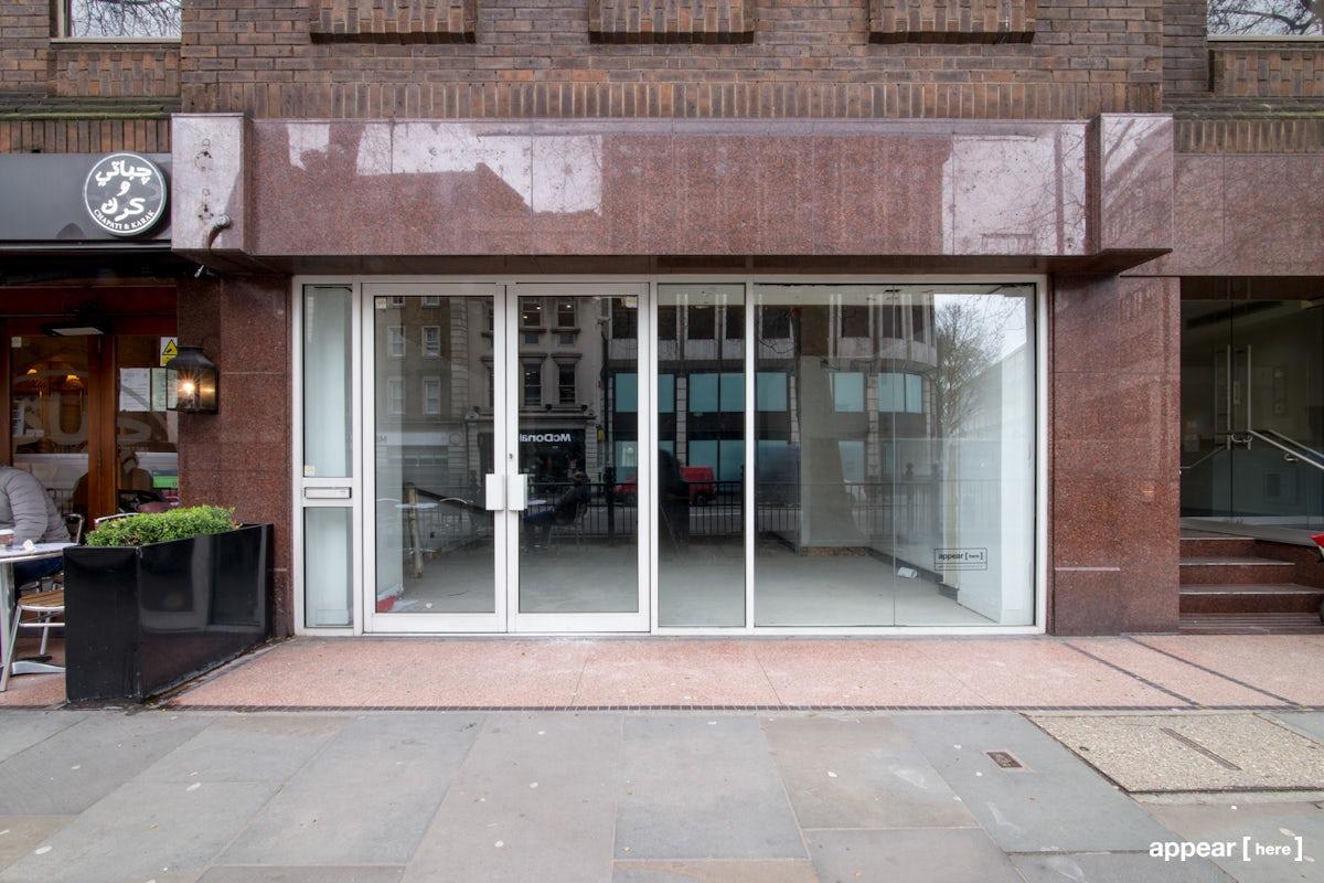 Brompton Road, Knightsbridge - L-Shaped Retail Space